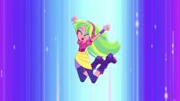 Lemon Zest jumping in the air EGS1