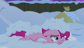 Pinkie Pie annoyed and covered in snow S7E11.png