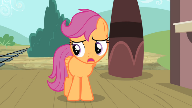 File:Scootaloo 'If I go, and fall, flop, or do anything...' S4E05.png
