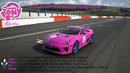FANMADE MLP Racing Team Pinkie Pie's car