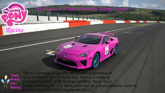 File:FANMADE MLP Racing Team Pinkie Pie's car.jpg