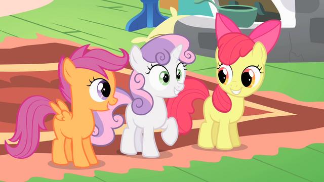 "File:Sweetie Belle ""creature catchers!"" S01E17.png"