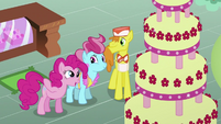 Pinkie Pie Talking About the Cake S2E24