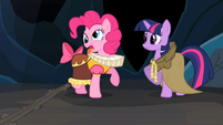 Pinkie Pie making a face S2E11