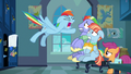 """Rainbow Dash shouting """"too much!"""" S7E7.png"""
