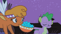 Sad Little Strongheart and Spike S01E21.png