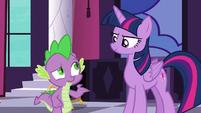 """Spike """"how do I do that?"""" S5E10"""