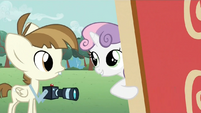 Sweetie Belle and Featherweight S2E23