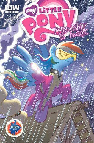 File:MLPFIM 8 Larry's Comics RE Cover.jpg