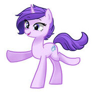 Claire the pony by kilala97-d71kytq