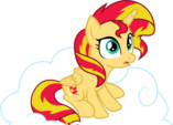 Princess Sunset Sitting on a Cloud by TheShadowStone