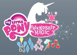 FiM by mauroz comic logo