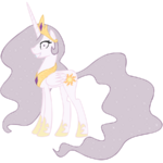Princess Molestia alternate mane color