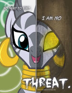 Mlp two sides of zecora by tehjadeh-d4ozaji