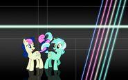 Lyra x Bonbon background by sirpayne