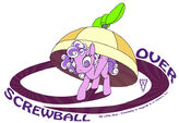 Screwball Over coverart by WarrenHutch