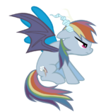 Rainbow Dash the betrayer by bronyboy