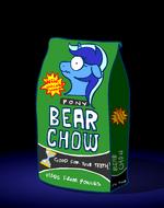 Colgate as a bag of bear chow
