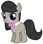 Octavia as a filly MLP FiM by AtomicGreymon