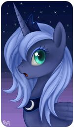 Princess Luna picture from the brony Facebook page