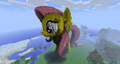 FANMADE Minecraft Fluttershy 3D View 1.png