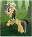 Daring Do in the jungle by Hawk9mm.png