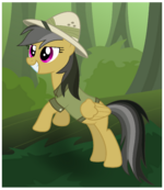 Daring Do in the jungle by Hawk9mm