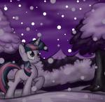 Twilight Sparkle background wallpaper by artist-omegasunburst