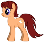 Me as a female Pony with Cutie Mark