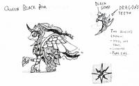 Queen Black Nova