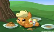 Baby Applejack by artist-zantyarz