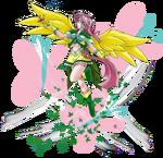 FM Fluttershy heiress Gaia by mauroz