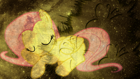 Fluttershy wallpaper by artist-lktronikamui