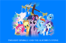 Twilight Sparkle and the Alicorn's Stone