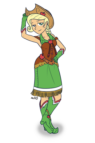 File:Humanized applejack in dress by empty 10-d39vdp3.png