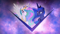 Princess Celestia and Princess Luna wallpaper by artist-kooner-cz and artist-sakatagintoki117