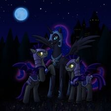 Luna with Night Guards
