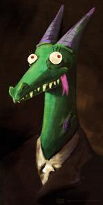 Sir crackle by CrappyUnicorn