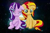 Two sad mares by SunsetMajka626