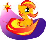 Sunset Shimmer Do you REALLY like me by Katlyon