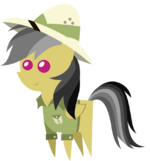 Chibi Daring Do by kacu95