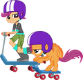 Scootaloo and scootaloo by hampshireukbrony.png
