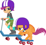 Scootaloo and scootaloo by hampshireukbrony