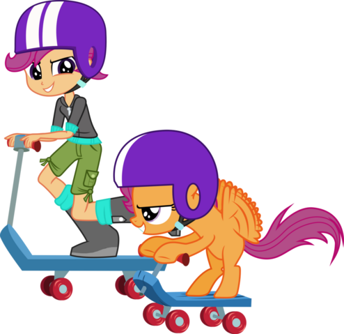 File:Scootaloo and scootaloo by hampshireukbrony.png