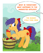 Little Apple Thief by HazuraSinner