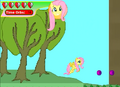 Fluttershy in Ponyville 1.png