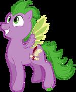 Spike pony by c-puff