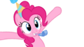 Pinkie Pie - Party Hat Vector by ctucks.png