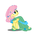 Fluttershy at the Gala by takua770.png