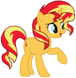 Sassy Sun Horse by Tigerbeetle